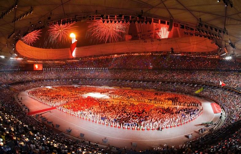 北京奥运会主场馆鸟巢国家体育场