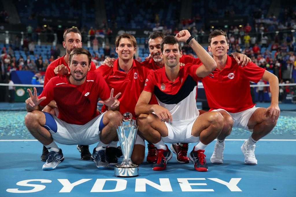 小德力克纳达尔双打亦建功 助塞尔维亚夺首届ATP杯